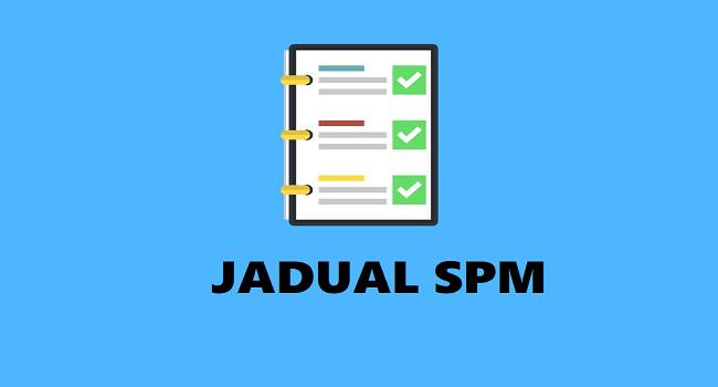 jadual spm
