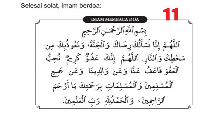 tarawih 8 rakaat 11