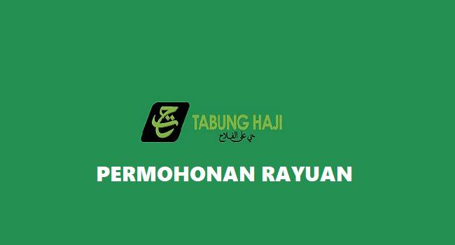 Permohonan Rayuan Haji Download Borang Rayuan Th 2020 1441h